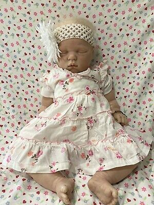 Baby Reborn Girl Sweetie By Donna Rubert Handmade Vinyl