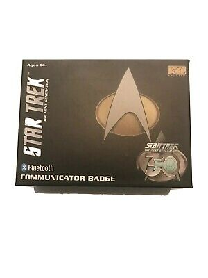 Star Trek TNG Bluetooth Communicator Badge The Next Generation New In Sealed Box