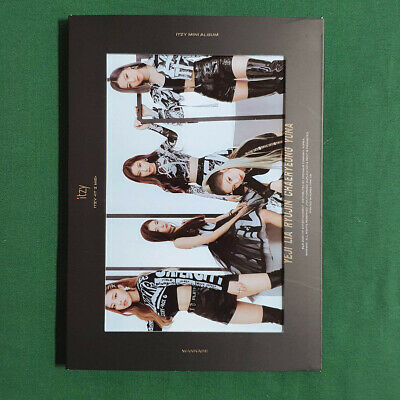 [Pre-Owned/No Photocard] ITZY 2nd Mini Album IT'z Me IT'z ver Kpop Geunine