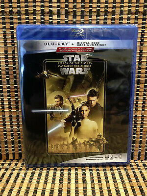 Star Wars: Ep II - Attack of the Clones (Blu-ray, 2019)Disney Reissue.George Luc
