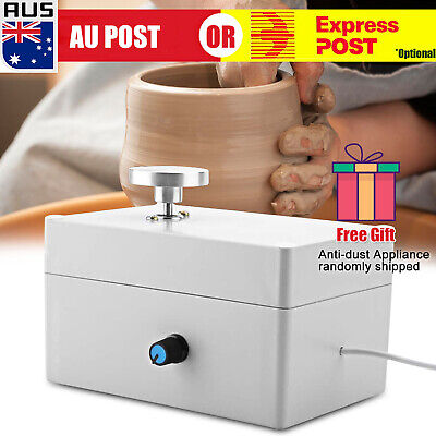 Mini Portable Electric Pottery Wheel Ceramic Machine For Work Clay Artcraft AU C
