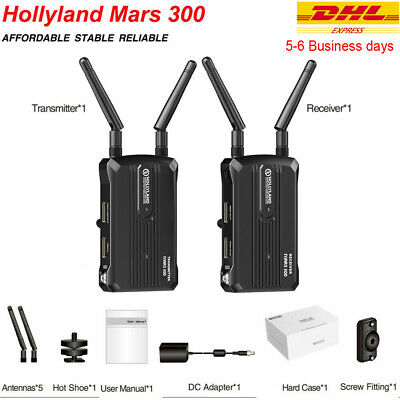 Hollyland Mars 300 5G Wireless Image HDMI Video Transmission Kit HD 1080P 300ft