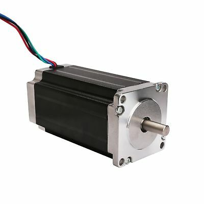 EU Free Nema23 Stepper Motor 435oz.in 4.2A 4 leads powerful key way shaft CNC