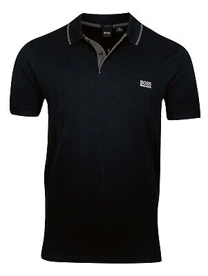 Hugo Boss Men's Firenze Cotton Polo Shirt - Slim Fit - Black