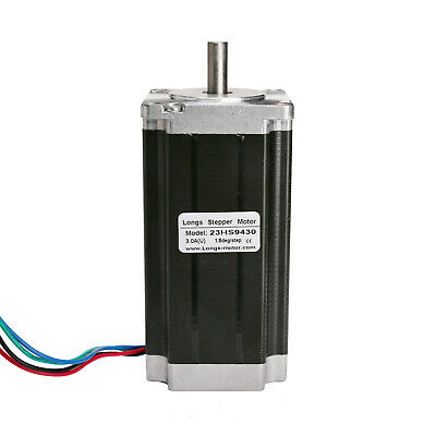 Free ship! nema 23 stepper motor  425oz.in 112mm 4leads 3A with  single shaft