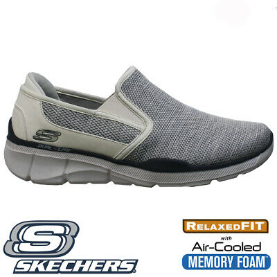 NEW MENS SKECHERS CLASSIC FIT AIR COOLED MEMORY FOAM WALKING TRAINERS SHOES SIZE