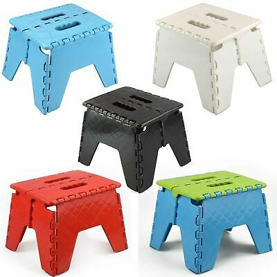 ASAB Heavy Duty Plastic Step Stool Foldable Multi Purpose Home Kitchen Use