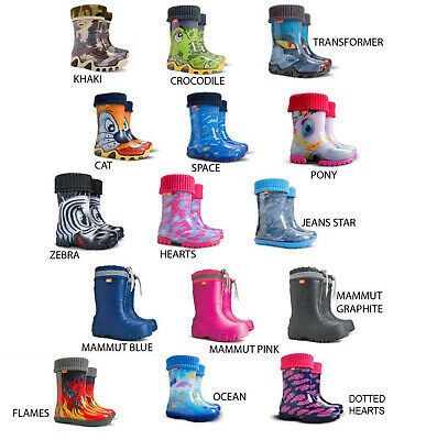 Wellies for Kids Brand New Wellington Boots for Boys and Girls Outdoor Play UK