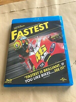 Fastest Blu-ray (Rossi / Stoner / Simoncelli / DTS-HD MA / Bonus Features)