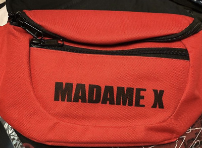 Madonna Madame X Tour VIP Bum Bag Fanny Pack NYC Pop Up Shop Exclusive Official