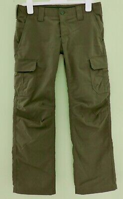 UNDER ARMOUR STORM TACTICAL NWOT Womens Sz 10 Army Green Cargo Patrol Work Pants