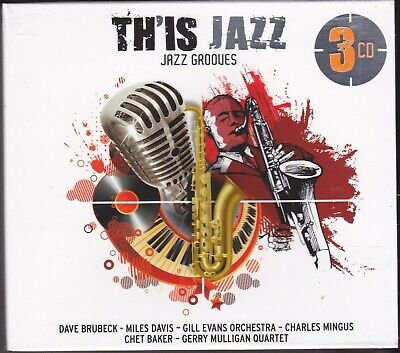 3 CD Box Set Cofanetto TH'IS JAZZ GROOVES Brubeck Davis Mingus Baker etc.. nuovo