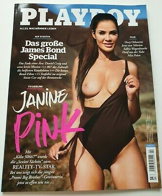 Playboy 4/2020    Reality TV-Star   JANINE  PINK   ungelesen, 1A TOP Zustand