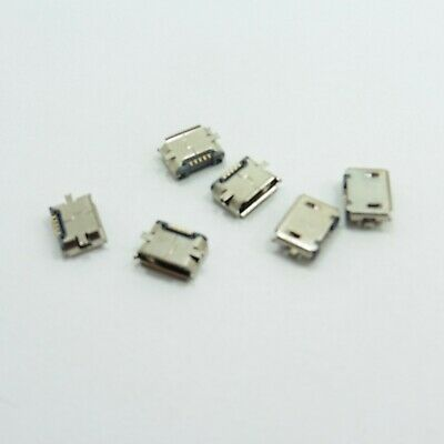 Female Micro USB Type B Socket DIP Connector SMD 5 Pin