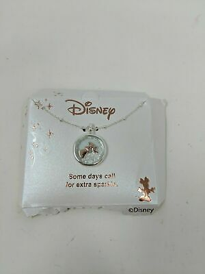 Disney|Some Days Call for a Little Extra Sparkle Necklace w/Pink Floating Charms
