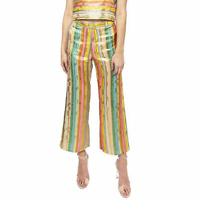 Julie Brown New With Tags Ahoy Multicolored Pant Cotton Candy