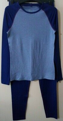 New Girls Crane Blue Thermal Set 15-16 Years