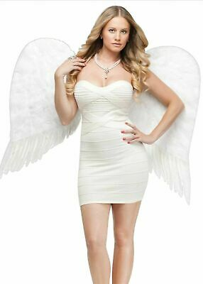 Angel Wings Feather Adult White Costume Accessory