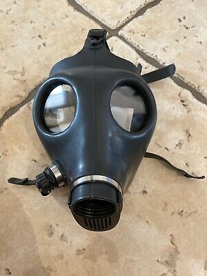 NEW Israeli Adult Civilian Gas Mask ONLY. NO FILTER