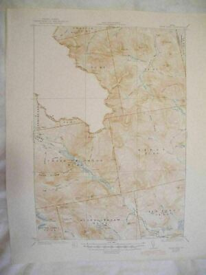 1945 Chain Lakes, ME Maine USGS Topographic Topo Map 2