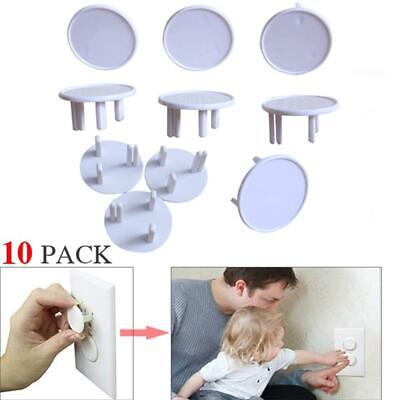 Child Safety Outlet Baby Guard Protector UK Power Socket Plug Cover