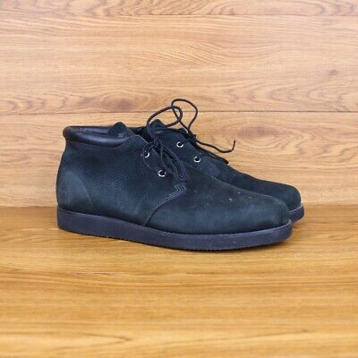 TIMBERLAND NEWMARKET MID Chukka Black Leather Ankle Boots
