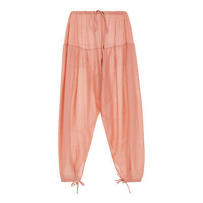 Loup Charmant New With Tags Pashto Gathered Wide-Leg Pants Pink