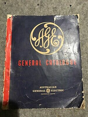 Vintage AGE GE Australian General Electric 1940s CATALOGUE Antiques Collectable