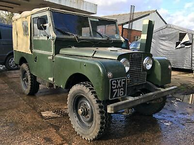 1958 Land Rover Series 1 V8 Soft Top