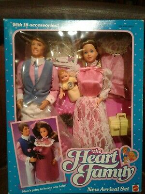 The Heart Family New Arrival Set Mattel