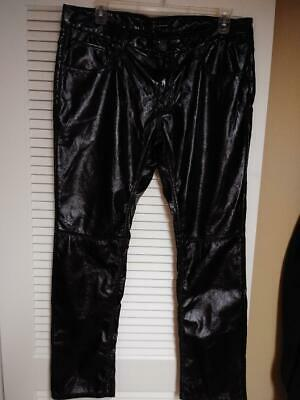 INC mens faux leather pants 38x32..free shipping