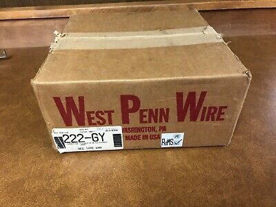 West Penn Wire 222 2 Conductor 20 Gauge Control Cable 1000 Feet