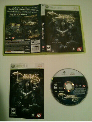 The Darkness - Microsoft Xbox 360 - Complete and Tested - NTSC