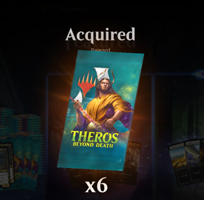 MTG Arena Code - Theros Beyond Death - (6 booster packs) ** EMAIL CODE ONLY **