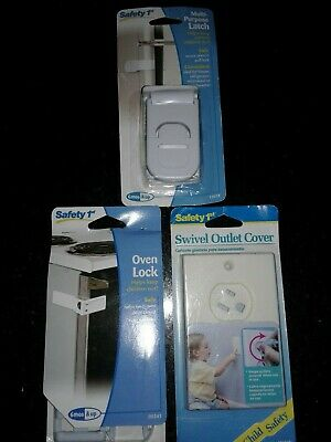 Safety 1st Child & Baby Proof Oven Lock/Swivel Outlet Lock/ Multi Purpose Latch