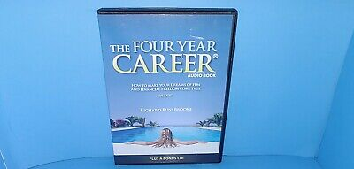 The Four Year Career Audio Book CD Richard Bliss Brooke B396
