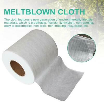 Melt-blown Nonwoven DIY Fabric Mouth Face Mask Craft Filter 10/20/50/100M