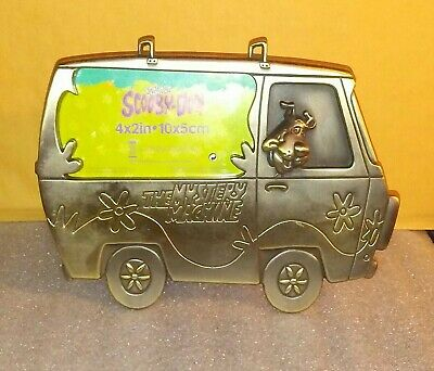 Scooby Doo Mystery Machine Metal Frame / 4 x 2 inch Photo Cartoon Network 2001