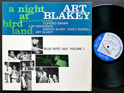 ART BLAKEY A Night At Birdland Vol.1 LP BLUE NOTE 1521 EAR MONO Clifford Brown