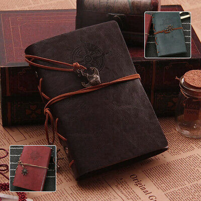 Pirate Style Vintage Classic Retro Journal Travel Leather Notepad Notebook Diary