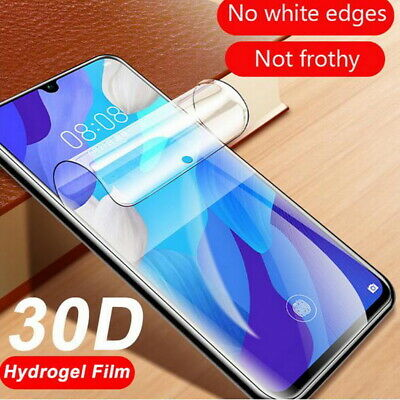 Flexible Hydrogel Screen Protector Film For Samsung Galaxy S20 Ultra S20 A71 A51