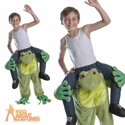 Girls Boys Step in Ride On  Frog Animal Fancy Dress Costume Outfit