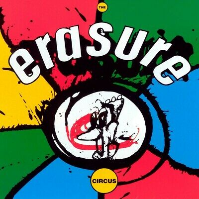 Erasure - The Circus vinyl LP NEW/SEALED