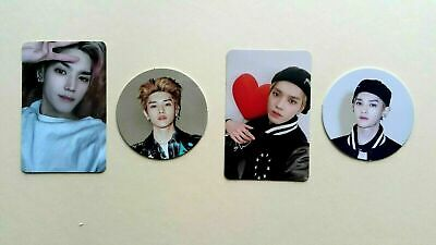 NCT # 127 Neo Zone Official Photocard Photo card N & C Taeyong full set (4 pcs)