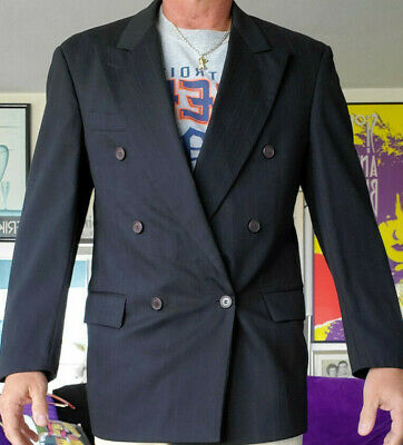 Paul Rodon Couture Business Suit Dress Coat R40 Webster Slovenia Zeidler Black S