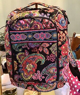 VERA BRADLEY Sympathy In Hue Large Campus Backpack Tech Laptop School Travel