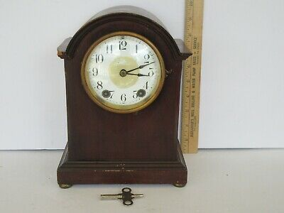 Antique Seth Thomas Mantle Clock, Cosmetic Condition Issues (Works) 48 J