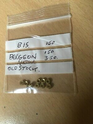 Clock Bushes Bergeon B15 New Old Stock X 10
