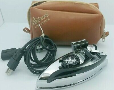 Vintage Gilford Daul Boltage 1A 300-D Automatic small travel Iron
