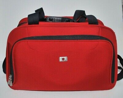 Victorinox Carry-on Duffle Red Luggage Bag Medium Size Travel